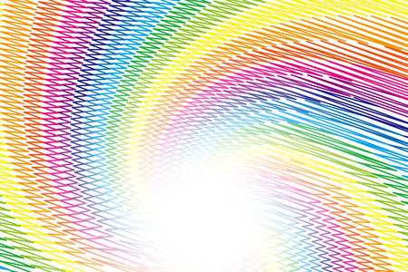 naughty: Wallpaper materials, doodle, Scribble, naughty, Rainbow, rainbow color, 7 colors, colorful, radial, spiral, spiral,