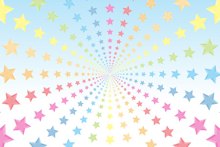 rainbow color star: Radial pattern of background material wallpaper, Rainbow, rainbow color, colors, colorful, Star, Stardust, Stardust, launch Fireworks, Illustration