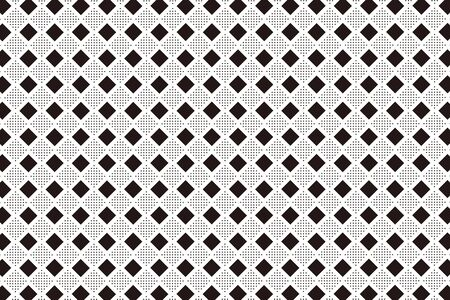 Background material wallpaper, floor, floors, diamond, diamond, diamond pattern, mesh, stitch, dot, dither, tracery, tenten Ilustrace