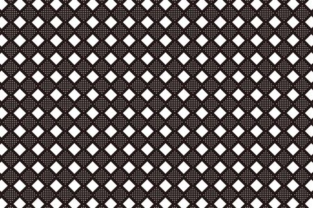 diamond background: Background material wallpaper, floor, floors, diamond, diamond, diamond pattern, mesh, stitch, dot, dither, tracery, tenten Illustration