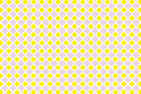 Background material wallpaper, floor, floors, diamond, diamond, diamond pattern, mesh, stitch, dot, dither, tracery, tenten  イラスト・ベクター素材