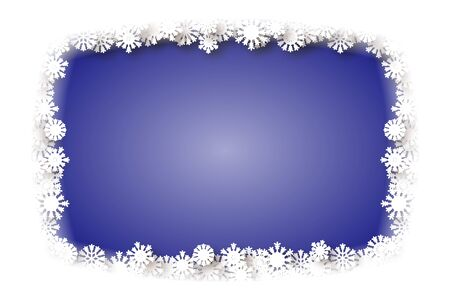 turn of the year: Background material, snow crystals, white, white, winter, snow, Christmas, new year, year, new years card stock, special occasions, winter landscapes, Illustration