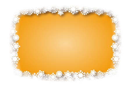 special occasions: Background material, snow crystals, white, white, winter, snow, Christmas, new year, year, new years card stock, special occasions, winter landscapes, Illustration