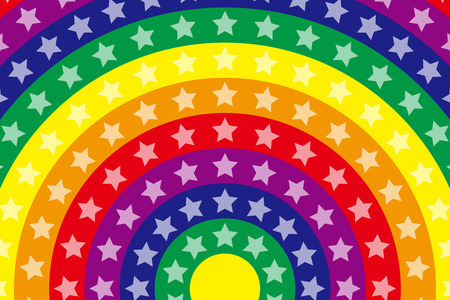 neon wallpaper: Wallpaper materials, Stardust, Stardust, glitter, Rainbow, Rainbow, launch Fireworks, launch, neon sign Illustration