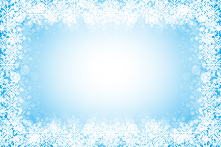 text space: Crystal Wallpaper material, snow, winter, white, snow, ice, ice, snow, Christmas, ornament,