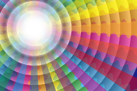 wallpaper rings: Background material wallpaper, Rainbow, rainbow color, hallucinations, colorful, circular, rings, ripples, ethnic, psychedelic