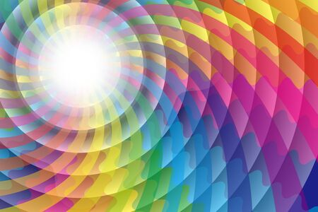 ripples: Background material wallpaper, Rainbow, rainbow color, hallucinations, colorful, circular, rings, ripples, ethnic, psychedelic