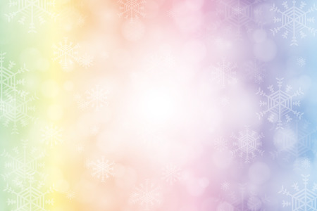 Background material wallpaper, winter, white, snow, ice, ice, snow crystals, Merry Christmas, feather, light,