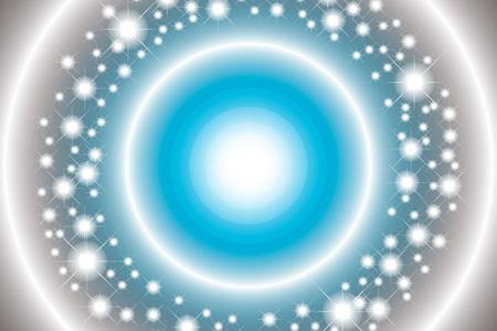 illumination: Wallpaper background material, metallic, metal colors, metal, light, sparkle, Star, Stardust, illumination, sparkling Illustration