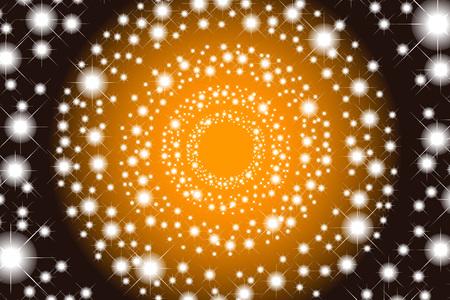 bitter orange: Background wallpaper material, light, shine, gleam, Twinkle, Twinkle, Twinkle, star pattern, Stardust, Stardust, Galaxy, milky way, wheel