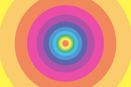well being: Background wallpaper material, Rainbow, rainbow color, colors, colorful, Yen, wheel, circle, ring, ring, bright, fun