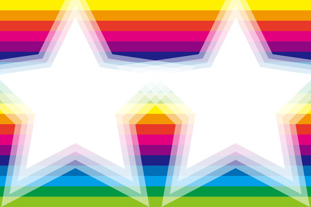 rainbow background: Background material wallpaper, Rainbow, rainbow color, 7 colors, colorful, stripes, stripes, stripes people, frame, frames, margins, Illustration
