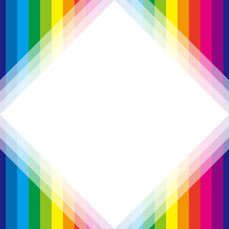 margins: Background material wallpaper, Rainbow, rainbow color, 7 colors, colorful, stripes, stripes, stripes people, frame, frames, margins, Illustration