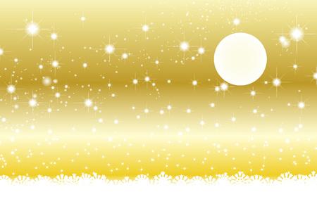 Hintergrundmaterialien, Vollmond, Stardust, Stardust, Galaxy, Sterne, Milchstraße, Mond, Himmel, funkeln, Raum, Mondlicht, Mondschein