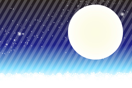 night view: Background material wallpaper, Stardust, Stardust, Galactic, moon, sky, milky way, night view, glitter, stripes, striped, Illustration