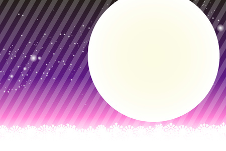 striped wallpaper: Background material wallpaper, Stardust, Stardust, Galactic, moon, sky, milky way, night view, glitter, stripes, striped, Illustration