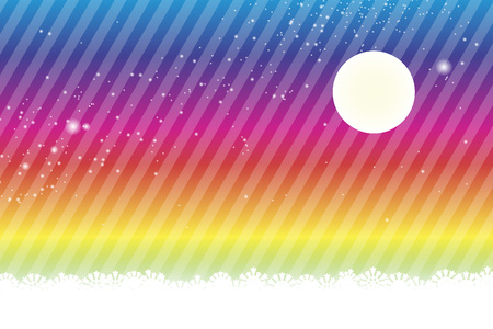 galactic: Background material wallpaper, Stardust, Stardust, Galactic, moon, sky, milky way, night view, glitter, stripes, striped, Illustration