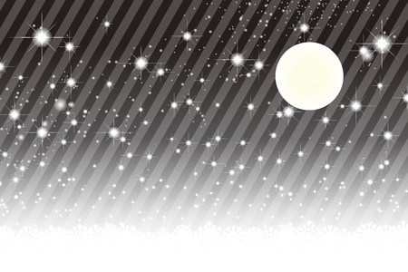 view wallpaper: Background material wallpaper, Stardust, Stardust, Galactic, moon, sky, milky way, night view, glitter, stripes, striped, Illustration