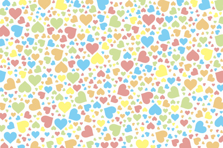 rainbow background: Background material wallpaper, hearts, Rainbow, Rainbow, colorful, Valentines day, love, love, LOVE,