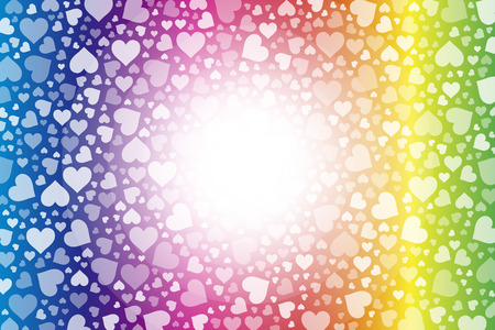 hilt: Background material wallpaper, hearts, Rainbow, Rainbow, colorful, Valentines day, love, love, LOVE,