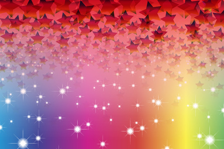 starry sky: Background material, Bokashi, blurring, blur, defocus, pale, thin, Stardust, Stardust, glitter, light, sky, starry sky,