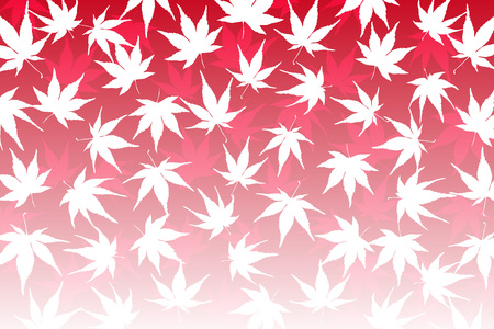 momiji: Wallpaper material, maple leaves, Momiji, maple, autumn, leaves, autumn, mountain, landscape, plant, nature, Japanese, Japan, Asian, traditional patterns Illustration