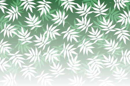 summer in japan: Background material wallpaper, bamboo leaves, Sasa, Sasa, deciduous, leaves, bamboo, Japanese, pattern, traditional patterns, Japan, Oriental, green leaves, summer,
