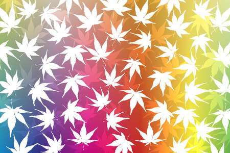 japanese maple: Wallpaper material, maple leaves, Momiji, maple, autumn, leaves, autumn, mountain, landscape, plant, nature, Japanese, Japan, Asian, traditional patterns Illustration