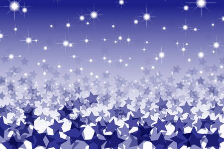 stardust: Patterned wallpaper material, Star, Stardust, Stardust, starry sky, night sky, glitter, shiny, space, light, bright, fun, Illustration