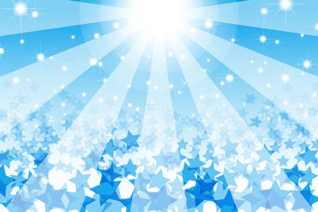 Hintergrundmaterial Tapete, sternchen, Stardust, Stardust, radial, Funkeln, glänzend, Galaxy, licht, hell, Spaß, Raum Vektorgrafik