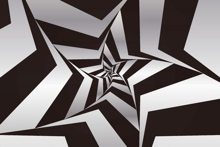 Wallpaper background material, Star, Stardust, glitter, spiral, spiral, spiral, radiation, striped, Zebra, stripe, Stok Fotoğraf - 61455750