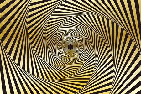 六角形、六角形等の壁紙、ハニカム、うずまき、旋回、渦潮、スピン、スパイラル、スパイラル、ラジアル  イラスト・ベクター素材