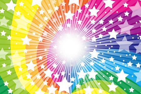 Rainbow, Rainbow, cute, pattern of wallpaper material, Star, Star, Stardust, Stardust, starry sky, glitter, shine a light,