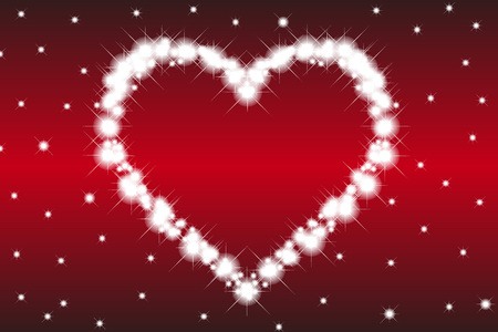 heart symbol: Wallpaper material, heart pattern, Valentines day, white day, heart, love, love, love, red, pink Illustration