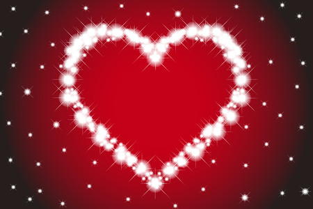 Wallpaper material, heart pattern, Valentines day, white day, heart, love, love, love, red, pink Stock Photo