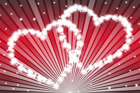 red wallpaper: Wallpaper material, heart pattern, Valentines day, white day, heart, love, love, love, red, pink Stock Photo