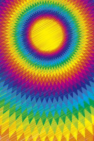 midsummer: Background material wallpaper, Rainbow, Rainbow, colorful, ethnic, Latin, passion, passion, Sun, light, summer,