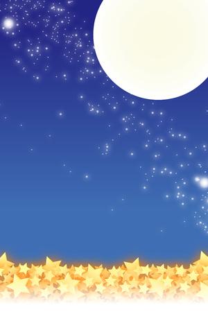 patterned wallpaper: Patterned wallpaper material, Star, Stardust, Stardust, Galaxy, night sky, milky way, milky way, glitter, moon, Moonlight, night, Stock Photo