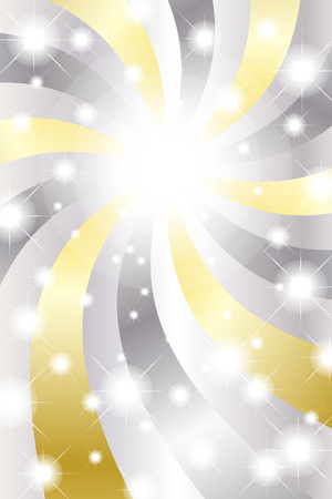 lag: Background material wallpaper, glitter, light, swirl, fun, party, Stardust, spiral, radial blur, light, sparkle, gleam Illustration