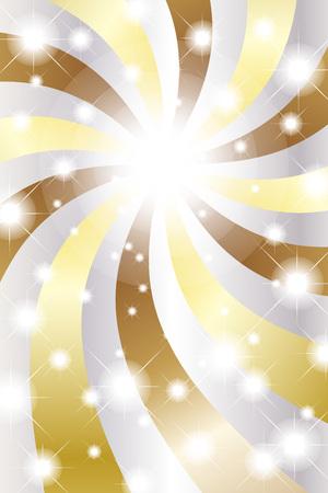 gleam: Background material wallpaper, glitter, light, swirl, fun, party, Stardust, spiral, radial blur, light, sparkle, gleam Illustration
