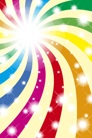 Background material wallpaper, Rainbow, Rainbow, light, bright, party, event, happy, colourful, fun, happy, happy Illustration