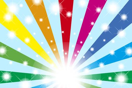 colourful lightings: Wallpaper materials, radiation, blur, light, Rainbow, spectrum, Prism, Rainbow, colorful, Illustration