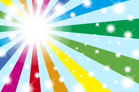 colourful lightings: Background material wallpaper, Rainbow, Rainbow, light, bright, party, event, happy, colourful, fun, happy, happy Illustration
