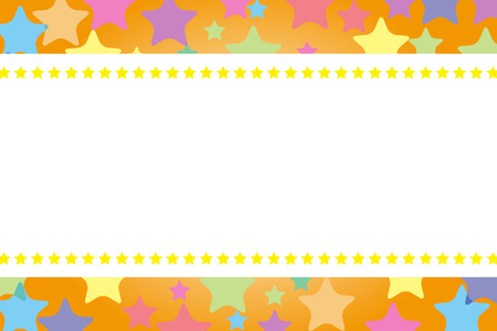 text space: Background material, Star, Stardust, glitter, light, Rainbow, Rainbow, colorful, copy space, text space