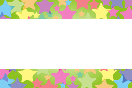 colorful frame: Background material, Star, Stardust, glitter, light, Rainbow, Rainbow, colorful, copy space, text space