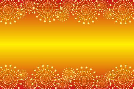 Wallpaper materials, summer festivals, Fireworks, night sky, StarMine, light, bright, copy space, message space