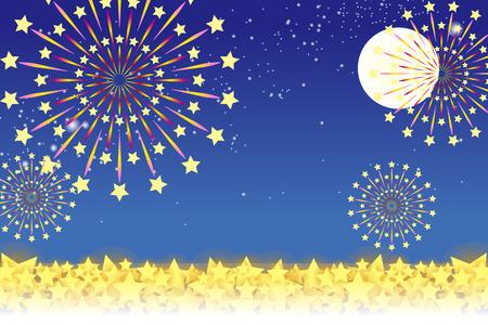 traditions: Wallpaper materials, summer festivals, Fireworks, night sky, StarMine, light, shine, sparkle, milky way, tradition, traditions