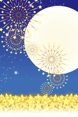 traditional events: Wallpaper materials, summer festivals, Fireworks, night sky, StarMine, light, shine, sparkle, milky way, tradition, traditions