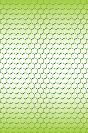 netty: Wallpaper material, wire netting, fence, wire mesh, checkered, metal, metal, honeycomb, hexagonal pattern, hole, vertical, Illustration
