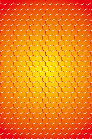 Wallpaper material, wire netting, fence, wire mesh, checkered, metal, metal, honeycomb, hexagonal pattern, hole, vertical, Illustration
